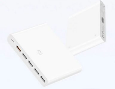 Xiaomi выпустила 60-ваттное зарядное устройство с шестью портами за $20