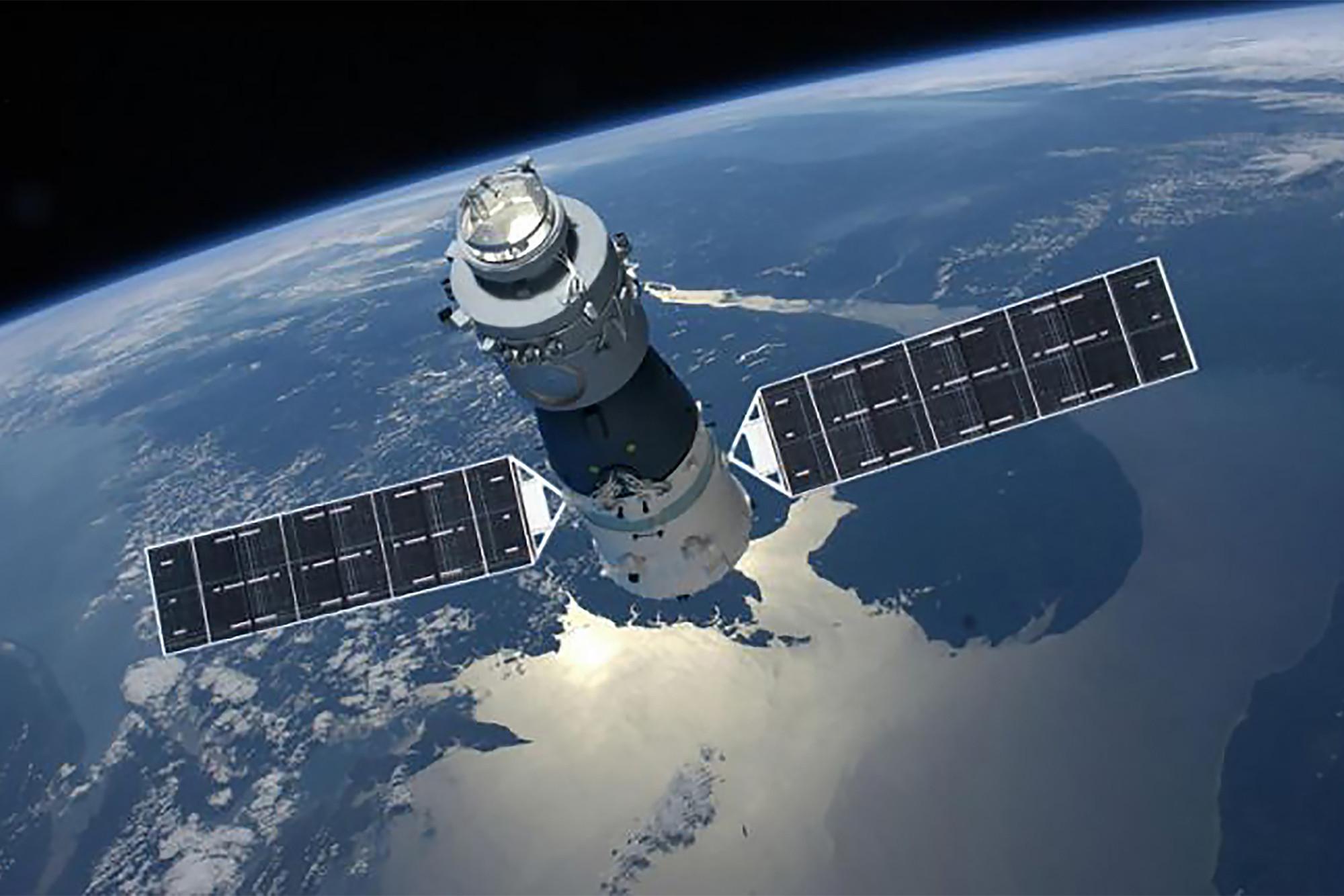 ESA уточнило сроки падения китайской станции «Тяньгун-1» на Землю, но никто по-прежнему не знает, куда именно она упадет