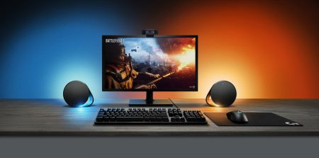 Logitech внедрила синхронизированную подсветку в динамики и клавиатуру
