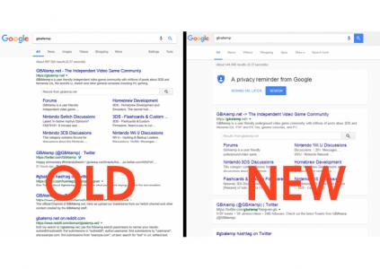 Google примеряет для поисковой выдачи новый шаблон в стиле Material Design