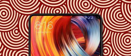 Видеоролик с участием Xiaomi Mi Mix 2S подтверждает у смартфона небольшой вырез в правом верхнем углу экрана под фронтальную камеру
