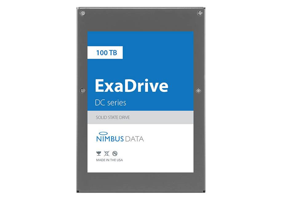 Анонсирован рекордный SSD с100 Тбпамяти