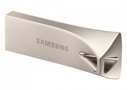 Samsung начинает продажи в Украине флэш-накопителя Bar Plus с интерфейсом USB 3.1 и скоростью чтения до 300 МБ/с
