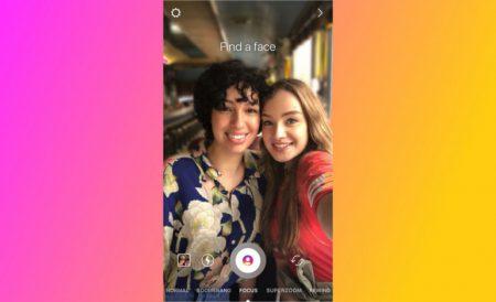 В Instagram появился портретный режим Focus, который позволит снимать фото и видео с эффектом боке