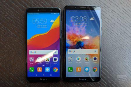 Huawei представила пару бюджетных смартфонов: 5,7-дюймовый Honor 7A на Snapdragon 430 за $200 и 5,99-дюмовый на Snapdragon 450 с двойной камерой за $240