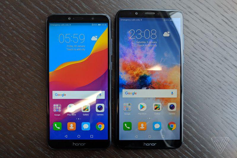 Huawei представила пару бюджетных смартфонов: 5,7-дюймовый Honor 7A на