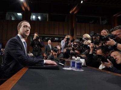 После выступления Цукерберга в Конгрессе США зрители заподозрили его в том, что он робот ?