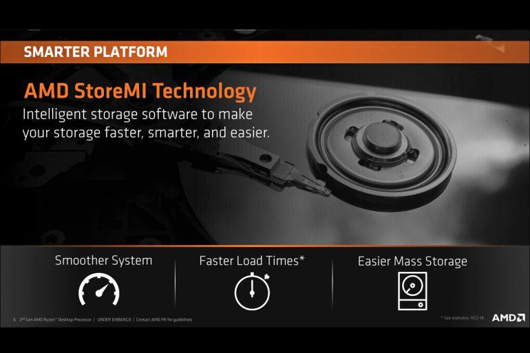 AMD анонсирует процессоры Ryzen 2-го поколения
