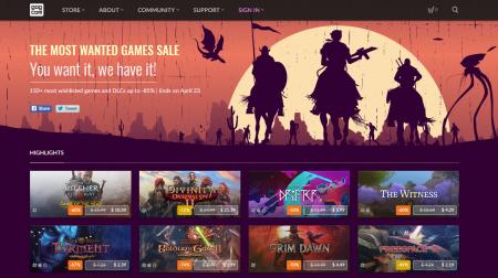 На GOG.com стартовала распродажа «Самые Желанные Игры», в которую попали более 150 игр, наиболее часто включаемых пользователями платформы в вишлисты