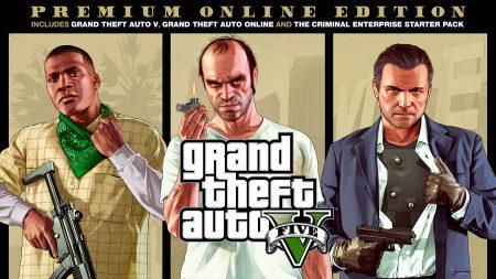 Rockstar Games представили новое издание GTA V: Premium Online Edition со всеми дополнениями, онлайном и внутриигровыми деньгами