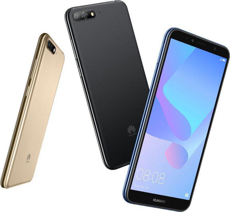 Huawei Y6 (2018) — новый бюджетный смартфон с 5,7-дюймовым экраном 18:9, функцией Face Unlock и Android 8.0 «Oreo»