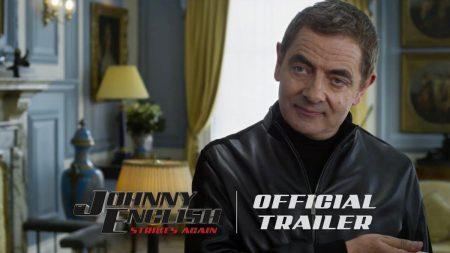 Первый трейлер шпионской комедии «Агент Джонни Инглиш: Новая миссия» / Johnny English Strikes Again с Роуэном Аткинсоном и Ольгой Куриленко