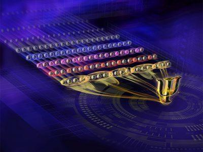Исследователи создали квантовый регистр, состоящий из 20 запутанных кубитов