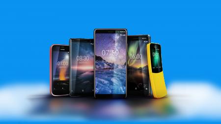 В Украине стартуют продажи смартфонов Nokia 8110, Nokia 1, Nokia 6 (2018), Nokia 7 Plus и Nokia 8 Sirocco
