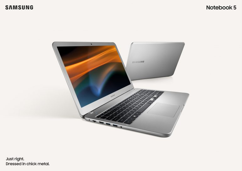 Самсунг представила ноутбуки Notebook 5 иNotebook 3
