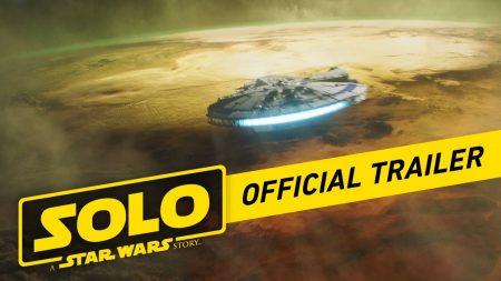 Вышел официальный трейлер фильма Solo: A Star Wars Story / «Соло: Звёздные войны. Истории» о молодом Хане Соло (плюс тизер Avengers: Infinity War)