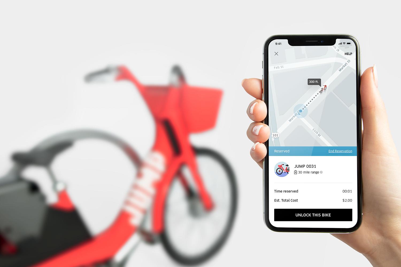 Uber заключил «велосипедную» сделку сJump Bikes