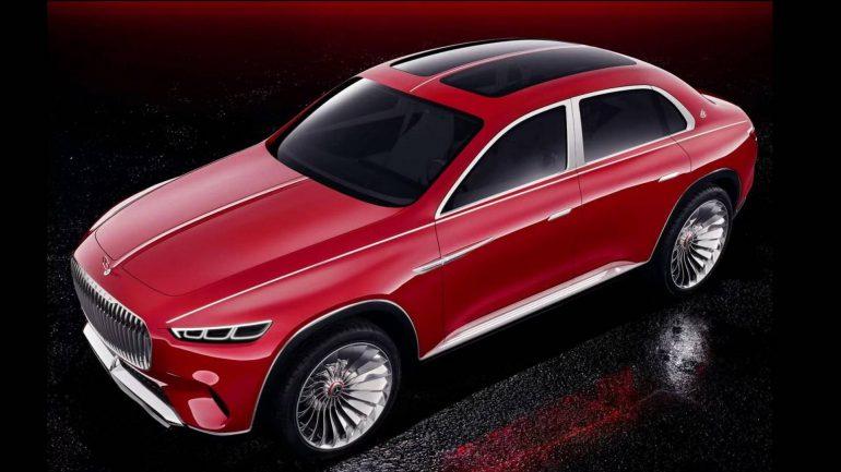 Фотографии нового электрического концепта Vision Mercedes-Maybach Ultimate Luxury попали в сеть за неделю до анонса
