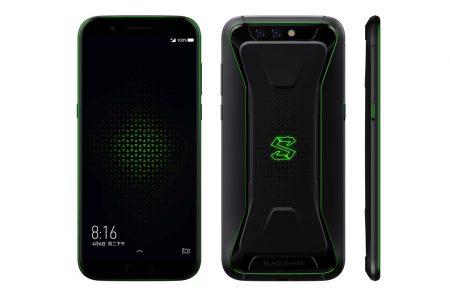 Геймерский смартфон Xiaomi Black Shark представлен официально: 5,99-дюймовый IPS-дисплей, Snapdragon 845, 6/8 ГБ ОЗУ, батарея на 4000 мАч и ценник от $479
