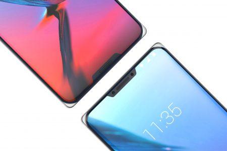 ZTE Iceberg будет первым вмире телефоном с 2-мя вырезами экрана