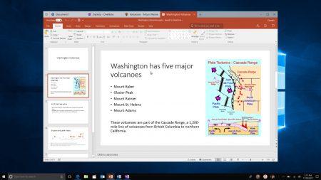 В новой тестовой сборке Windows 10 появилась функция Sets для объединения окон запущенных программ в наборы