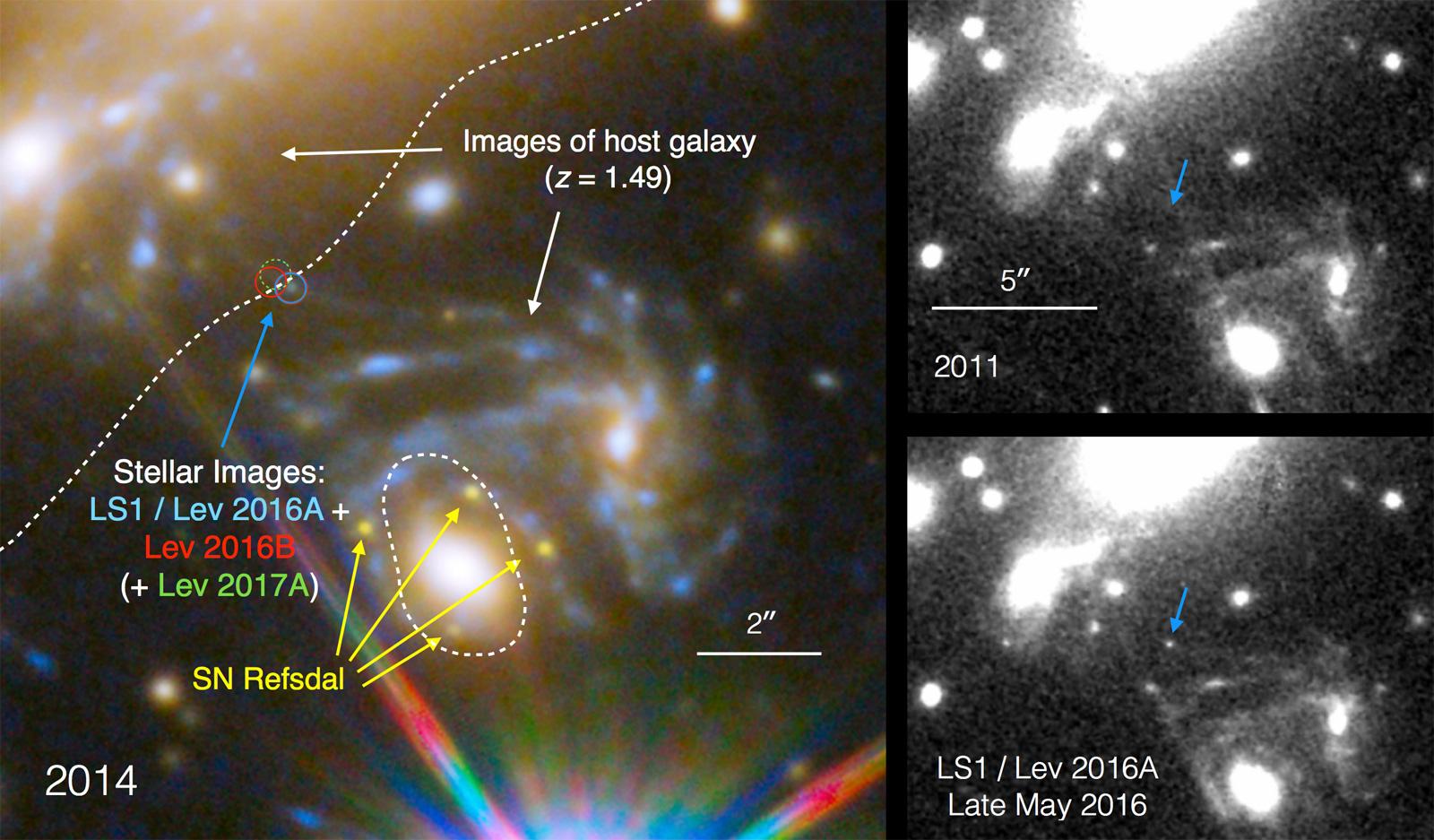 Космический телескоп «Хаббл» обновил рекорд самой далекой звезды