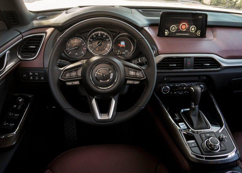 Удивляемся мотору и простору кроссовера Mazda CX-9 - ITC.ua