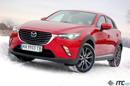 Тест-драйв Mazda CX-3: стильно, быстро, но не доступно… - ITC.ua
