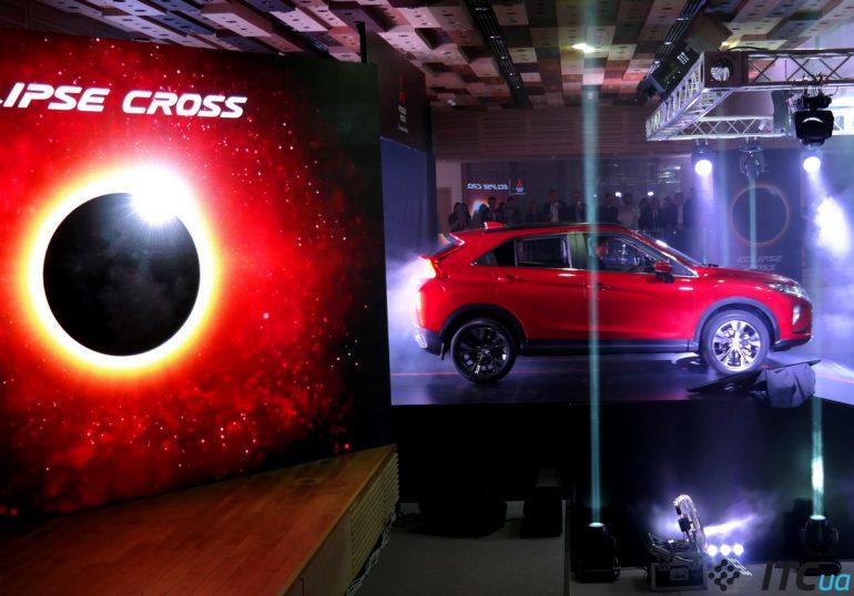 Новинка Mitsubishi Eclipse Cross: хорошее оснащение, но немалая цена
