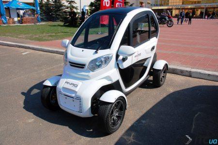 """""""ест-драйв электрокара за 150 тыс. грн. и новый формат EcoDrive"""