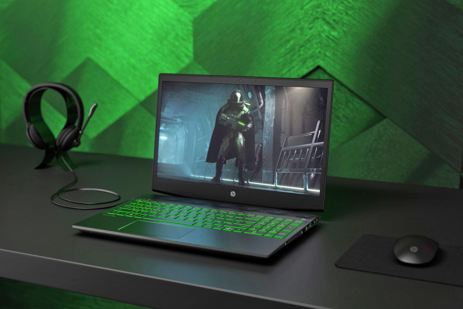 HPпоказала бюджетный игровой ноутбук Pavilion Gaming Laptop за800 долларов