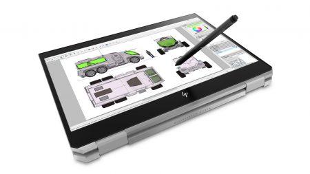 HP ZBook Studio x360 — ноутбук-трансформер для профессионалов с шестиядерными процессорами Intel Core и Xeon, графикой Nvidia Quadro P1000 и поддержкой стилусов Wacom AES