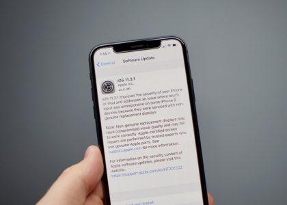 Обновление iOS 11.3.1 устранило проблему блокировки экранов iPhone 8, замененных в сторонних мастерских