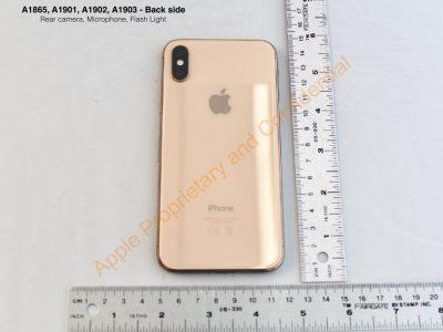 На официальном сайте FCC опубликовали фотографии смартфона Apple iPhone X в новом золотистом цвете Blush Gold - ITC.ua