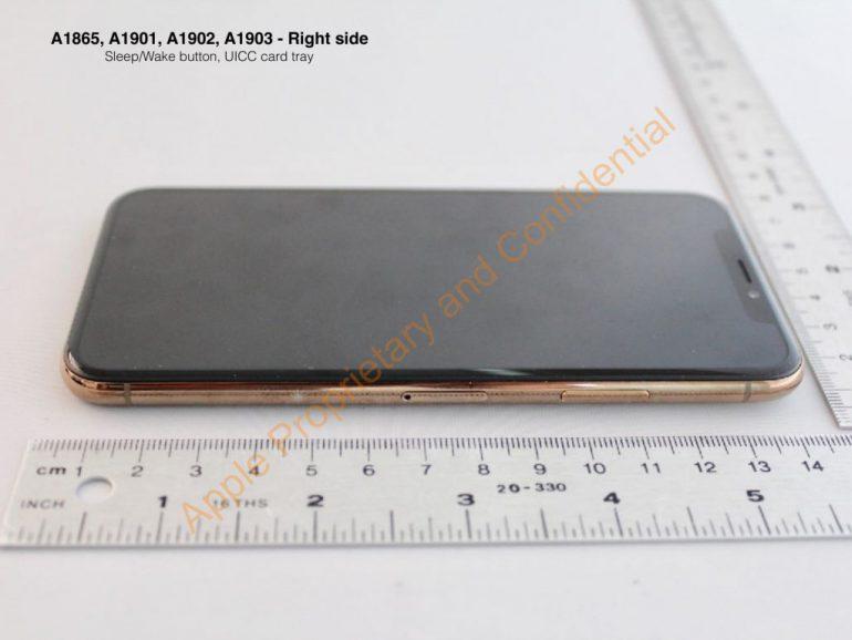 На официальном сайте FCC опубликовали фотографии смартфона Apple iPhone X в новом золотистом цвете Blush Gold