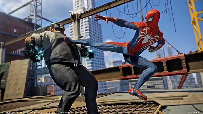 Человек паук секс версия