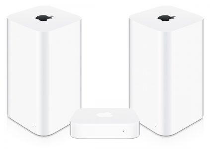 Apple прекращает выпуск Wi-Fi роутеров