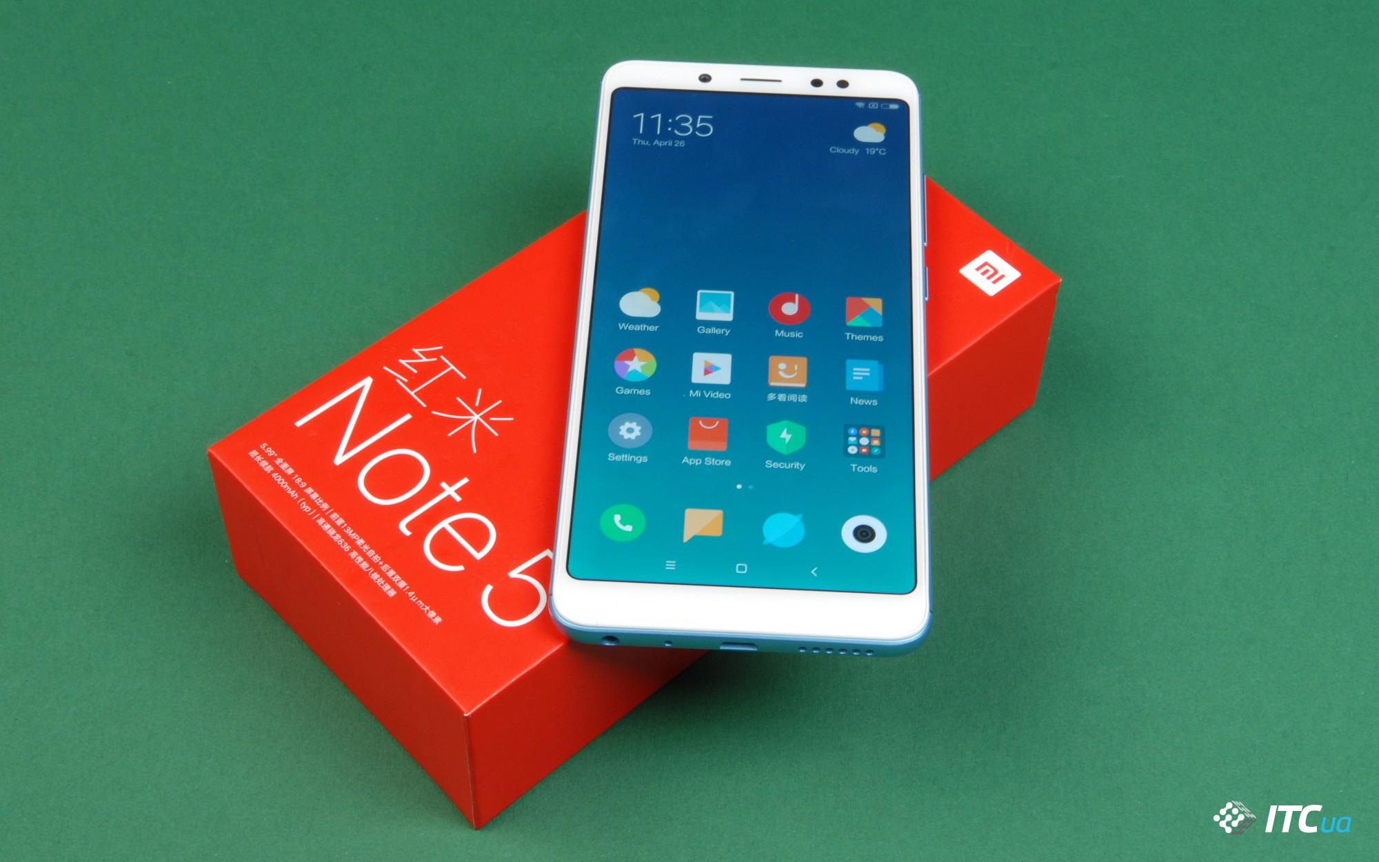 Обзор Xiaomi Redmi Note 5 Pro (Xiaomi Redmi Note 5 China)