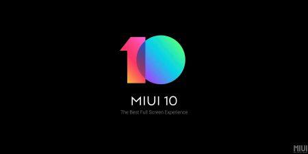 Xiaomi анонсировала прошивку MIUI 10 с ИИ, оптимизацией для полноэкранных дисплеев и обновлённым интерфейсом