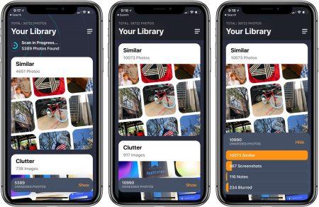 Новое iOS-приложение Gemini Photos украинских разработчиков MacPaw поможет быстро навести порядок в фотогалерее и освободить память (на телефоне и в облаке)