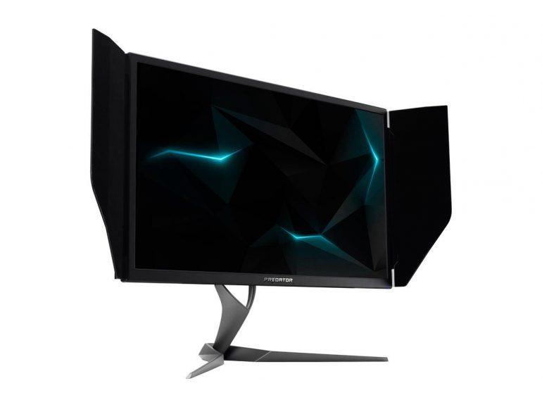 Стоимость игровых 4K-мониторов с поддержкой NVIDIA G-Sync HDR и кадровой частоты в 144 Гц – более €2500