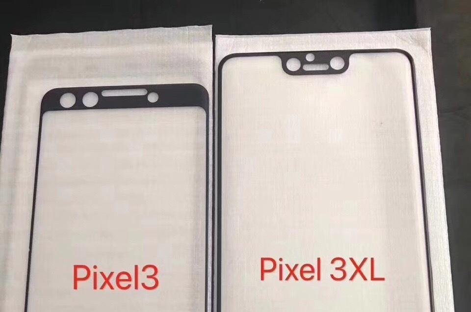 Смартфон Google Pixel 3 XLполучит вырез вверху экрана. Pixel 3— нет