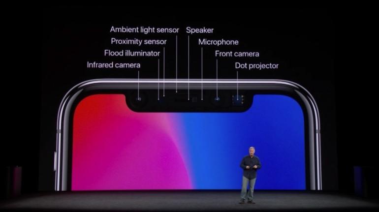Apple меняет смартфоны iPhone X у которых имеются проблемы со сканером лица Face ID