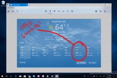 В Windows 10 добавят улучшенный инструмент для работы со скриншотами