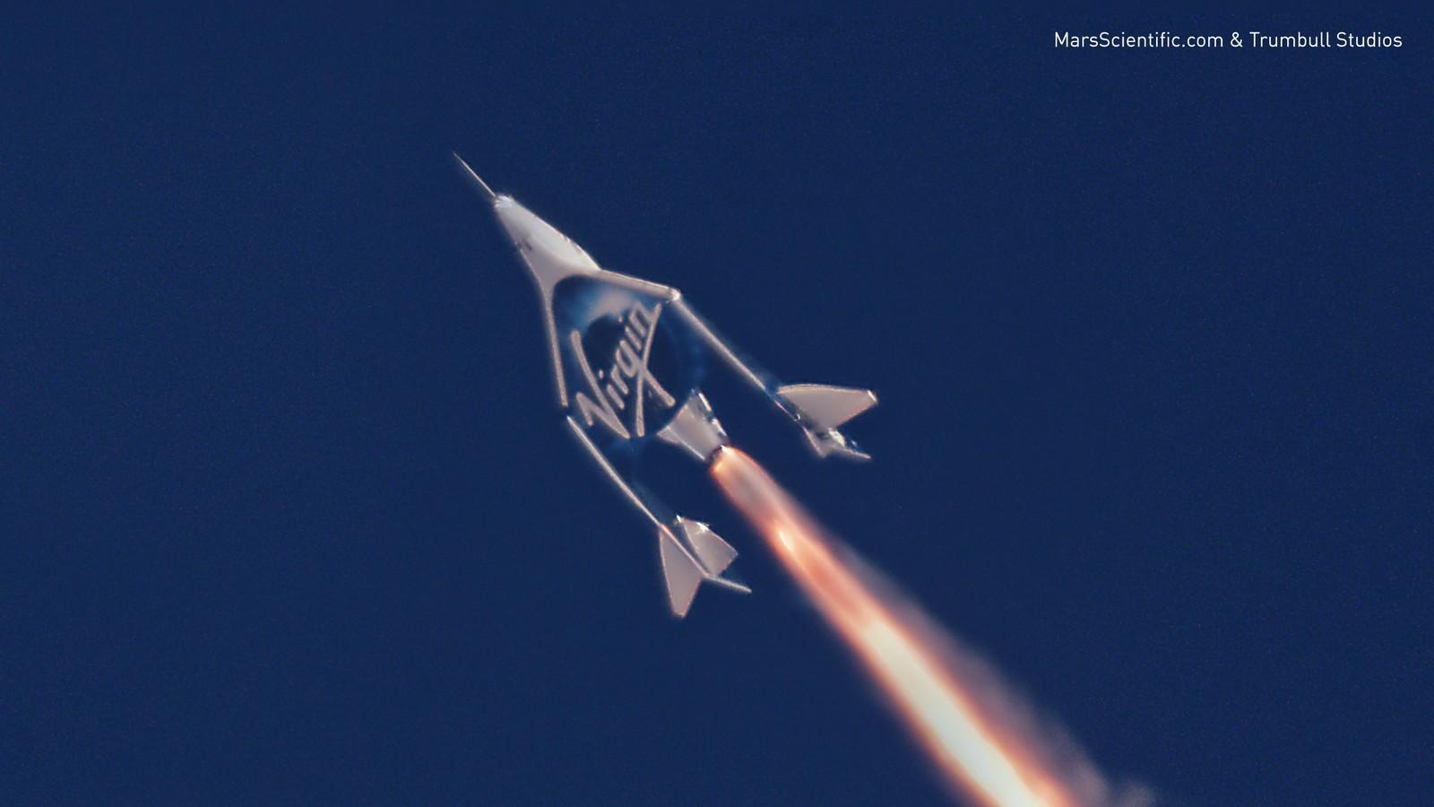 Virgin Galactic благополучно проверила космический корабль для туристов
