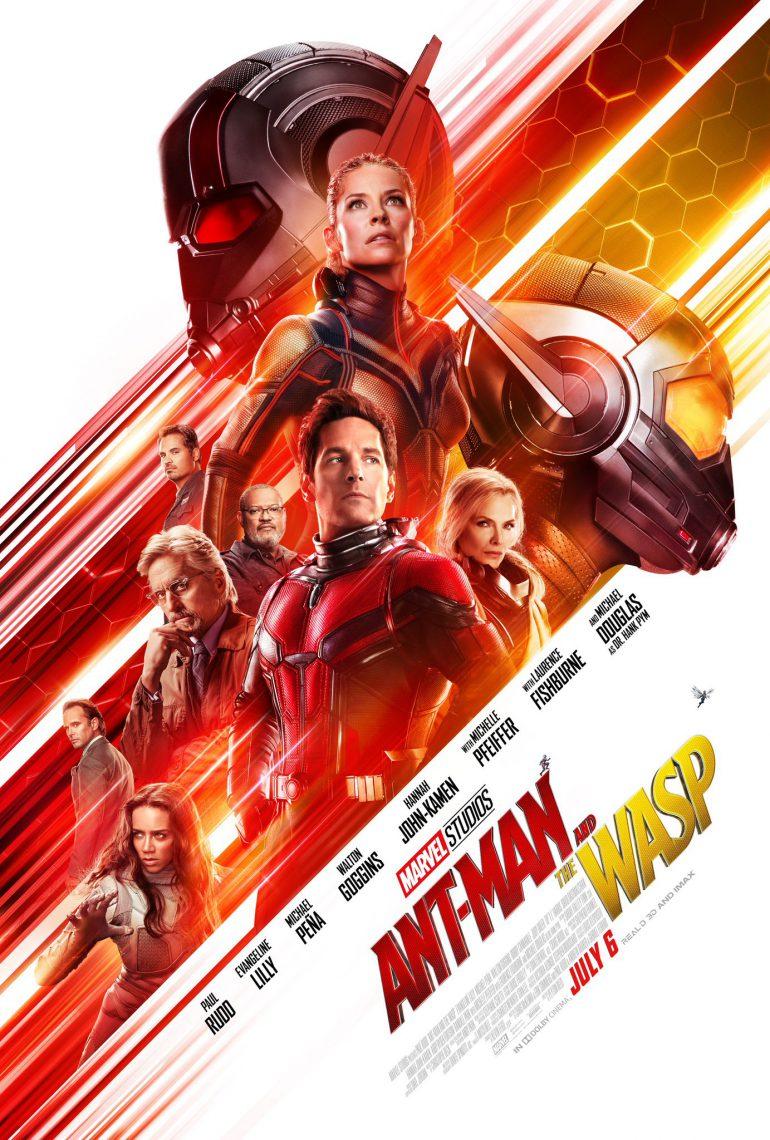 Официальный трейлер супергеройского фильма Ant-Man and The Wasp / «Человек-муравей и Оса»