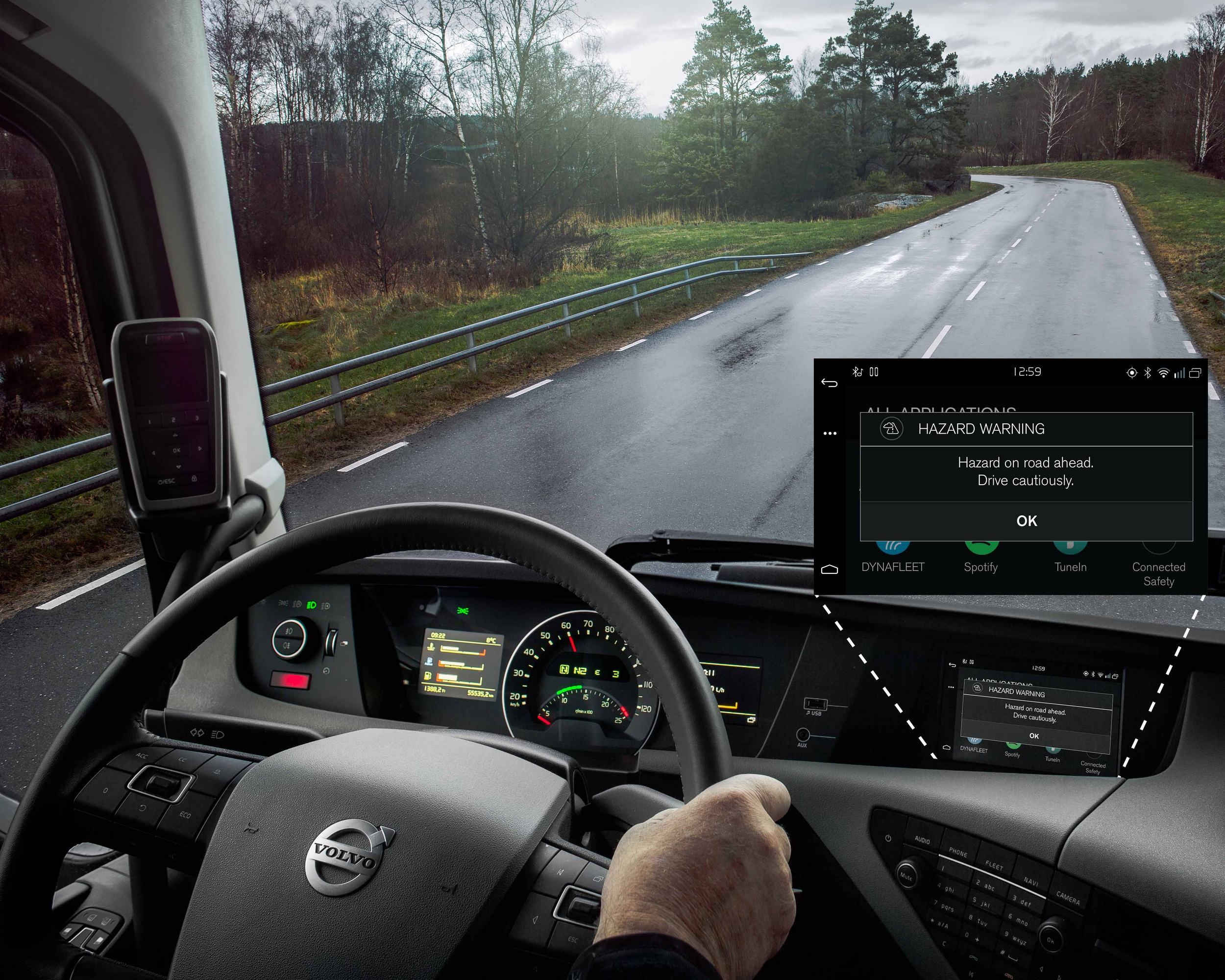 Вольво Cars и Вольво Trucks обучили свои автомобили общению