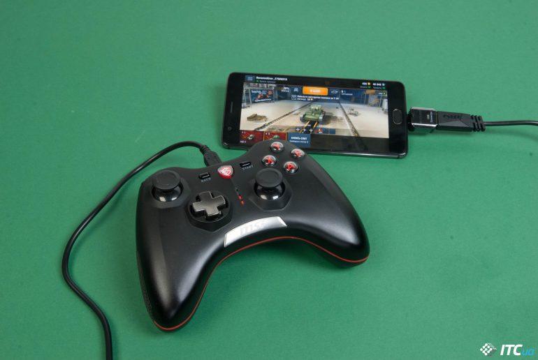 Обзор геймпада MSI Force GC20