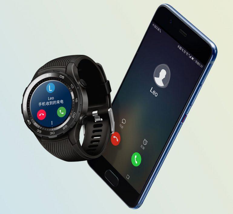 Вместо телефона: Huawei представила часы ссимкой