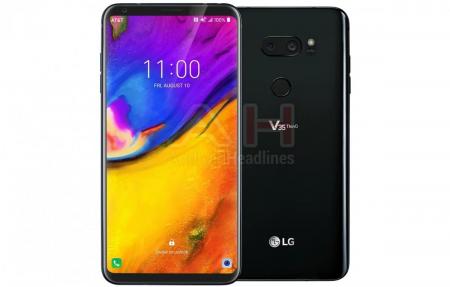 Появились изображения смартфона LG V35 ThinQ, который станет уже пятой версией модели V30